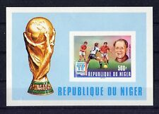 S5412) Niger 1978 MNH Wc Football - World Cup Football S/S Imperf