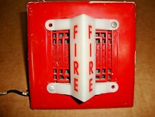 Federal Signal Corp. 450D Fire Alarm Vibratone Horn w/ VALS Strobe