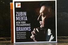 J. Brahms - The Symphonies etc. / Mehta   8 CD-Box