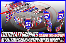 YAMAHA RAPTOR 250/350/660/700 YFZ 450/450R GRAPHICS DECALS