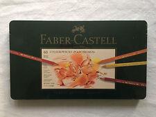 """Faber Castell - 60 Crayons de couleur """"Polychromos""""- 110060"""