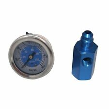 Work For NOS Or NX Nitrous Pressure Gauge +6 AN  Inline Adapter