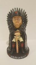"2017 SF GIANTS HUNTER PENCE ""Game of Thrones "" Bobblehead ""House of Pence"" RARE"
