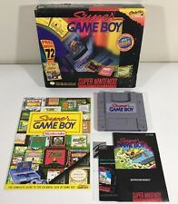 Big Box Super GameBoy Adaptor (Super Nintendo, 1994) Snes CIB Complete + Guide