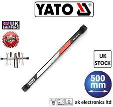 Yato Professional Magnetic Tool Holder Strip Bar Rail Rack Organiser 13kg 50cm