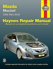 Haynes Car Workshop Repair Manual Mazda 6 2002-12 4cyl + V6 - Australian Version
