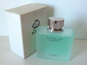 Guerlain Homme L'Eau EDT Nat Spray 80ml - 2.7 Oz NIB TsT Boxed