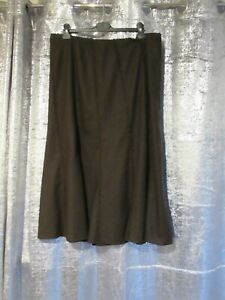 Ladies Brown Skirt From Marks and Spencers Size 20