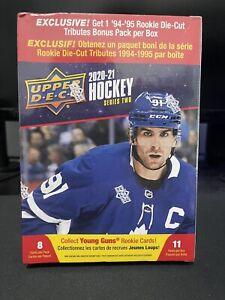 2020-21 Upper Deck Hockey Series 2 Factory Retail Box - SEALED