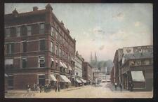 POSTCARD OIL CITY PA/PENNSYLVANIA CENTER STREET BUSINESS STORE FRONT 1907