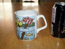 Loch Ness Monster, Ceramic Coffee Mug / Cup, Vintage