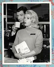 MARTHA HYERS  et  GENE BARRY   -   photo US originale