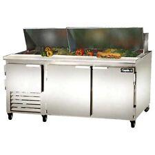Leader Lm72, 72x32x45-Inch Refrigerated Sandwich Unit, 26.2 Cu. Ft, 2 1/2 Door,