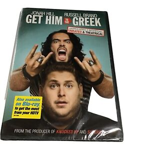 Get Him to the Greek (DVD, 2010, Rated/Unrated) ~ NEW ~ 📀 Fast Shipping Daily!