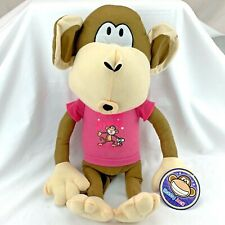 "Bobby Jack Monkey Ape Plush Stuffed Animal Toy 18"" Kelly Toy Han Lim Lee"