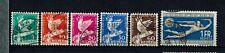 Briefmarken Schweiz  250-255 gestempelt Abrüstungskonferenz Genf  int.Nr.4