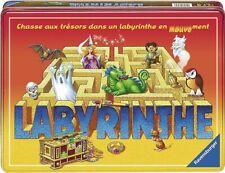 Jeu de société Labyrinthe - Boîte métal -  Chasse aux trésors -