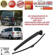 VW TRANSPORTER / CARAVELLE T5 2003-2015 REAR WIPER ARM & BLADE WINDSCREEN NEW
