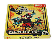 THE THREE MUSKETEERS Super 8 Colour Sound Movie 20TH Century Fox
