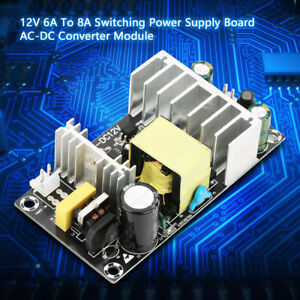 AC/DC 85-265V To 12V/8A 100W Converter Step Down Module Power Supply Switching