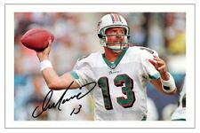 DAN MARINO MIAMI DOLPHINS SIGNED PHOTO AUTOGRAPH PRINT NFL FOOTBALL