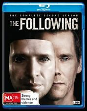 The Following : Season 2 (Blu-ray, 2015, 3-Disc Set)Excellent Condition