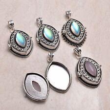 Rainbow Fire Topaz Gemstone 5 pcs Wholesale Lot Poison Pendant Jewelry Lot-1217