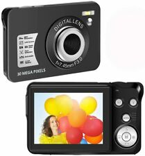 Digital Camera HD 1080P Vlogging Camera 30 MP Mini Camera 2.7 Inch LCD Screen Ca