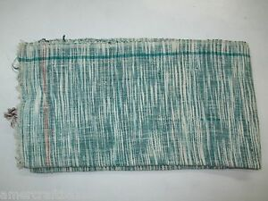 Eco Friendly hand-loomed Khadi Towels 72x35 inch beach soft wrap Bathroom Blue.1