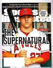 August 27, 2012 Mike Trout L.A. Angels RC First SPORTS ILLUSTRATED NO LABEL WB