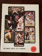 1971 Baltimore Orioles Yearbook PALMER ROBINSON POWELL