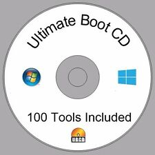 Windows XP 7 8 10 PC Computers Laptops Recovery Restore Fix Repair Boot CD