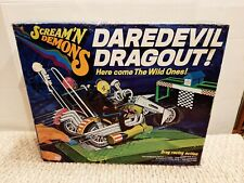 Vintage 1971 Hasbro Scream'n Demons Daredevil Dragout Wild One Cycles MIB