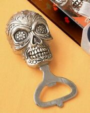 Sugar Skull Bottle Opener Day Of The Dead Collection Gothic Gift