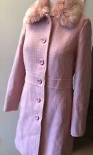 Womens Shining  Fur Collar Coats Thicken Long Jackets Casual