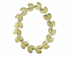 Eucalyptus Round Leaf Collar by Michael Michaud - Silver Seasons