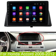 "10.1"" Android 9.1 Radio Stereo Gps Nav Car Mp5 Player For 2008-2012 Honda Accord"