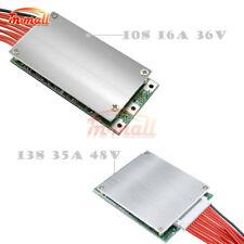 10S 16A 36V 13S 35A 48V Batería de litio PCM BMS PCB placa de protección de equilibrio
