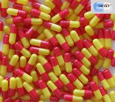 1000 gelatina vuote gelatina capsula Arancione/Giallo Taglia 1 Taglia 1 EU Products