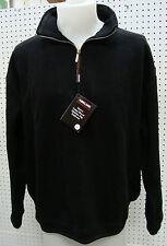 Kirkland Signature™ 1/4 Zip BLACK Pullover-MEDIUM-NWT (Double Line)