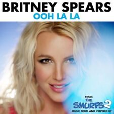 BRITNEY SPEARS - OOH LA LA (FROM THE SMURFS 2)  CD SINGLE INTERNATIONAL POP NEUF