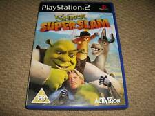 SHREK SUPERSLAM DREAMWORKS for SONY PLAYSTATION 2 PS2 Boxed Game Disc instructio
