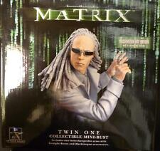 Matrix Movie Twin 1 Limited Edition Bust Statue Gentle Giant Dark Horse Neo New