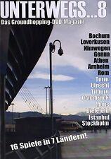 DVD ULTRAS GROUNDHOPPING EUROPE  8  2012/2013 (pyro,tifo,choreographies)