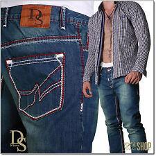 Stonewashed L32 Herren-Bootcut-Jeans aus Baumwolle mit niedriger Bundhöhe (en)