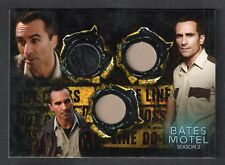 BATES MOTEL 2 SDCC TRIPLE COSTUME CARD #SD-3C1 NESTOR CARBONELL (VARIANT #1/5)