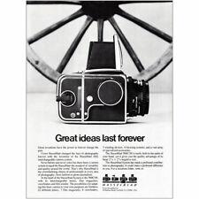 1980 Hasselblad: Great Ideas Last Forever Vintage Print Ad