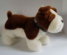 "Mack Truck Plush Bulldog Stuffed Animal Toy Dog Mascot Collar Super Soft 15"""