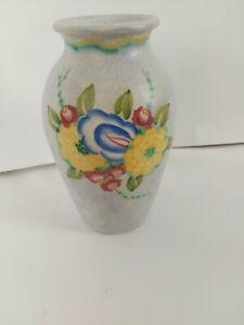 E Radford art-deco vase