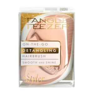 Tangle Teezer Compact Styler On-The-Go Dentangling Hairbrush - Rose Gold Styles